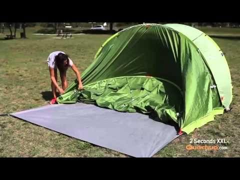 Quechua - 2 Seconds XXL Pop Up Tent - YouTube