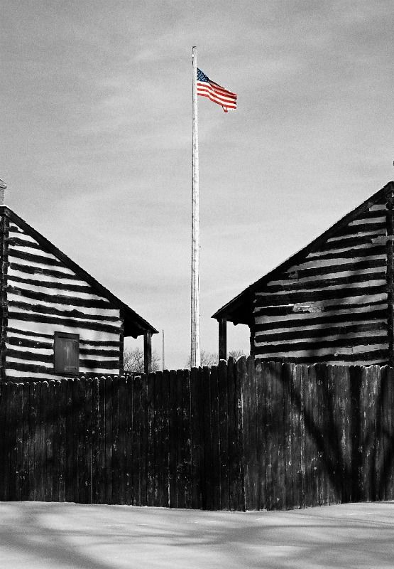 The American Flag- Fort Wayne, IN