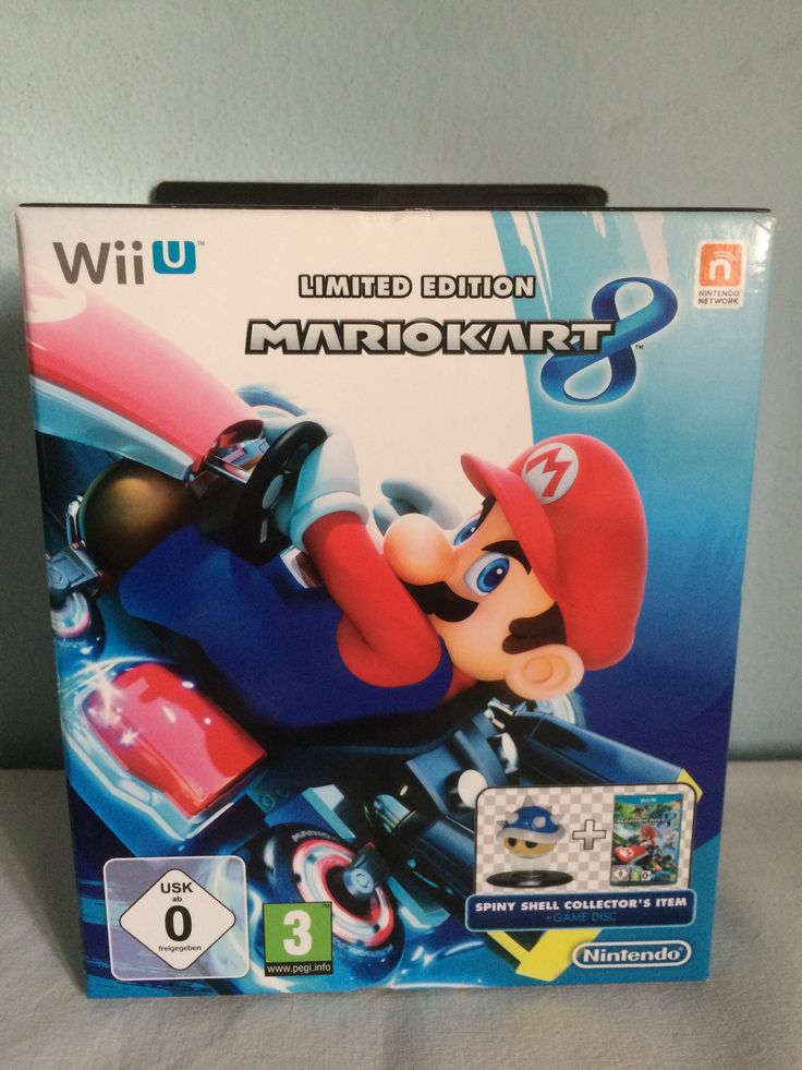 Mario Kart 8 Limited Edition box.