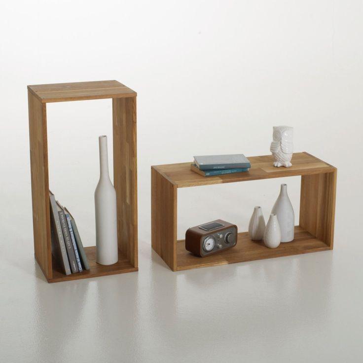 module de rangement ch ne massif edgar autre interior furniture pinterest shelves and. Black Bedroom Furniture Sets. Home Design Ideas