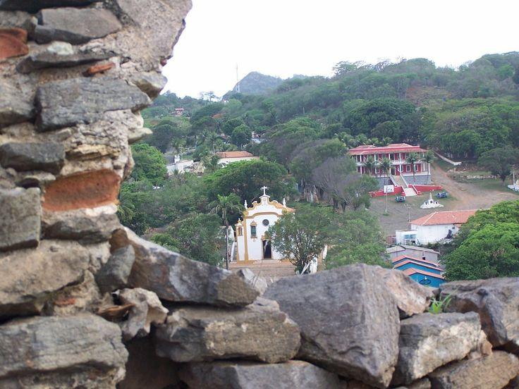 Fernando de Noronha - Vila vista do Forte