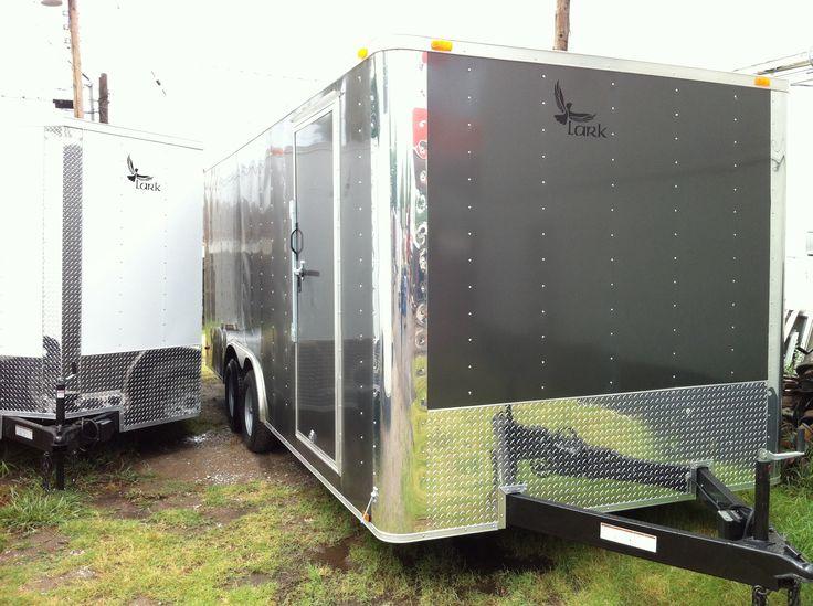 8.5 x 20 Enclosed Cargo trailer, race car trailer