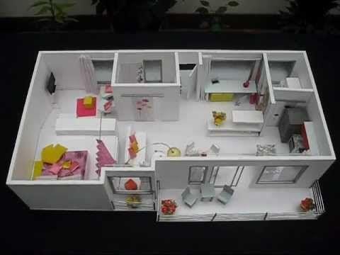 Costa Rica Maqueta Apartamento de Disenadora de Interiores