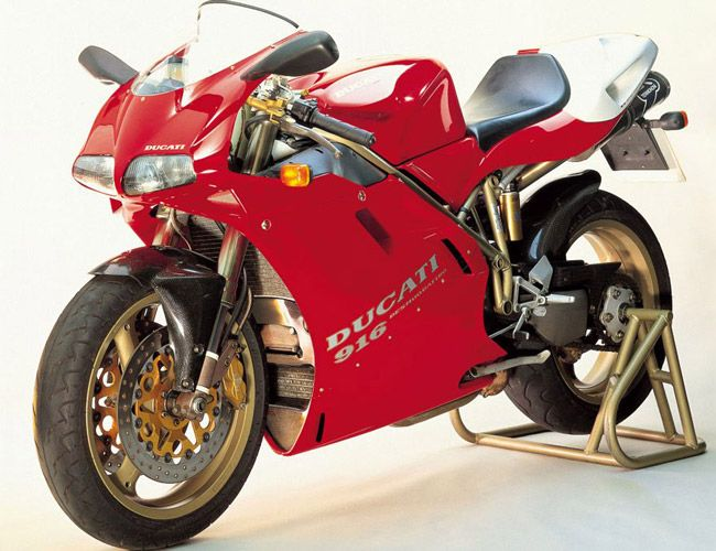 Ducati-916. At the top of any list of style.. where it belongs.