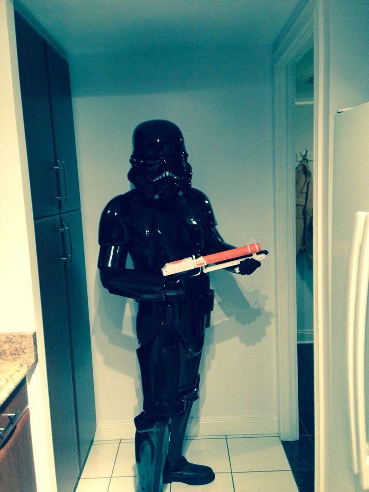 Storm Trooper gone Black Ops! Wonder if he has ninja stealth too?!?! Thanks for sharing Daren!