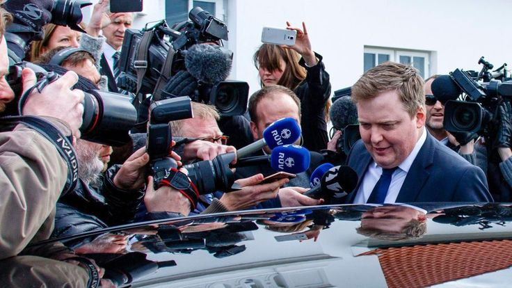 The prime minister of Iceland resigns after coming under increasing pressure over his use of an offshore company featured in the massive Panama Papers leaks.