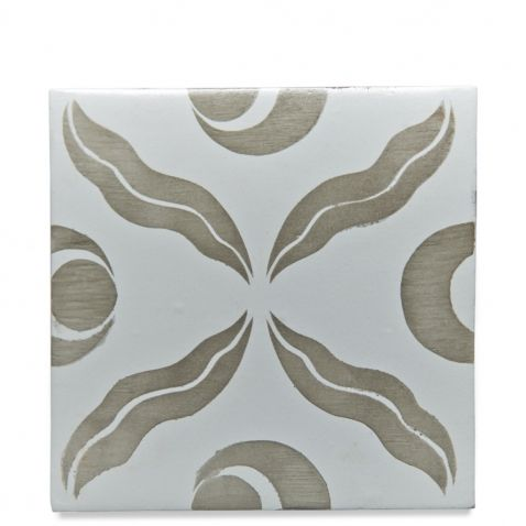 "RedBank Decorative Field Tile Cintimani 6"" x 6"" — Products | Waterworks"