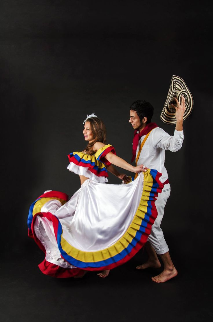 cumbia a traditional dance from colombia Both music and dance are very popular in colombia there are numerous popular and vibrant styles the most popular local musical styles are bambuco, cumbia, merengue, salsa, and vallenato.