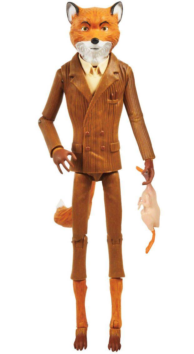 Figura Sr. Fox 15 cm. Colección Legacy. Fantástico Sr. Fox. Funko Estupenda figura articulada del personaje principal, el Sr. Fox de 15 cm de altura, fabricada en vinilo, de la colección Legacy, con accesorios y 100% oficial y licenciada del film Fantástico Sr. Fox.