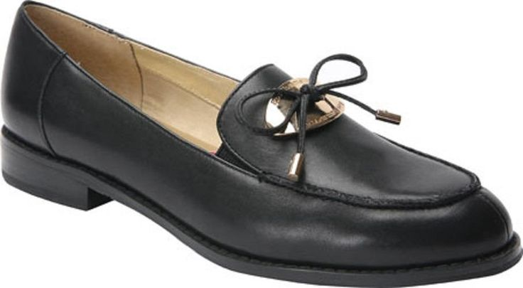 $145 Ros Hommerson Womens Loafers DANA 10WW Shoes Extra Wide Black Leather #RosHommerson #Loafers