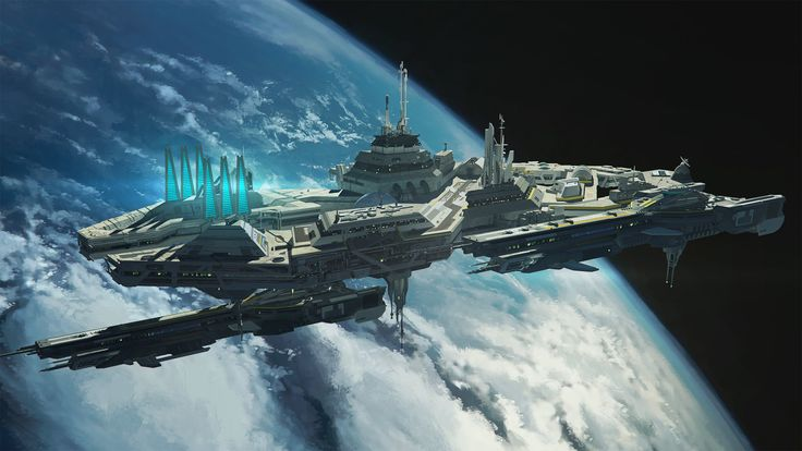 science fiction space stations - photo #36
