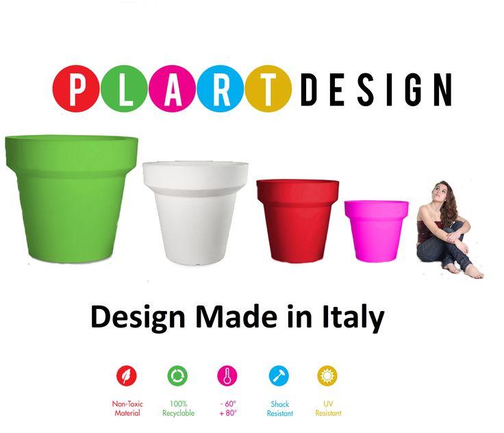 #Pot by Plart Design, #interiordesign #outdoordesign Collection #light  http://bit.ly/1Pra8t2