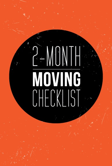 A 2 MovingChecklist to help you get organized way before your moving date.
