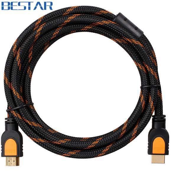 HDMI Cable Male to Male 0.3m / 0.5m / 1.5m /1.8m / 3m / 5m / 8m /10m / 15m / 20m 1.4V 3D 1080P 4K2K Ethernet HDMI  EUR 2.24  Meer informatie  http://ift.tt/2vC6hdF #aliexpress