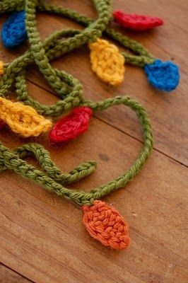 DIY: Christmas Light Garland - Crochet Instructions.
