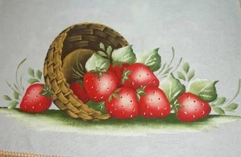 Risultati immagini per pintura em tecido