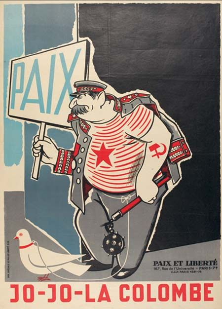 This 1951 poster was correct