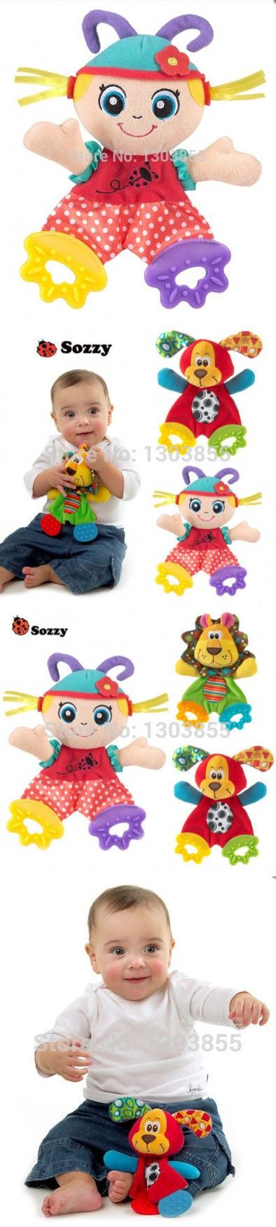 2014 HOT Baby Infant Soft Appease Toys Towel Playmate Calm Doll Teether Developmental Toy LITTLE GIRL
