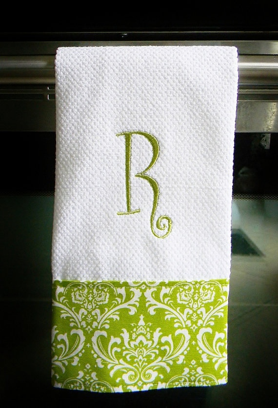17 Best Images About Monogrammed Towels On Pinterest Alabama Chevron Kitchen And Towels