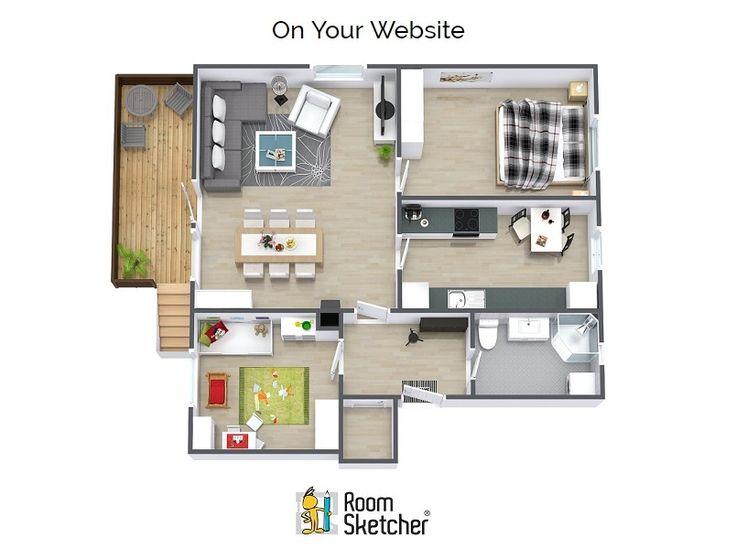 56 best floor plan software images on pinterest floor for Easy to use floor plan software