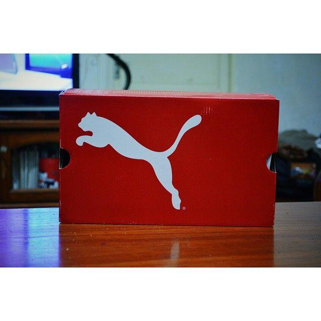 這支…彪,即將破盒而出 #vscocam # #vsco # #vscoxvsco # #puma # #intof # #intot # #intowb # #running # #shoes #