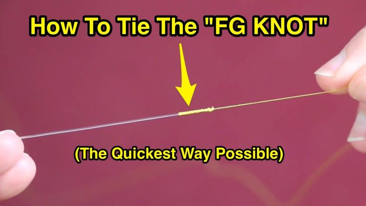 The video and FREE GUIDE in this post shows the fastest and easiest way to tie the super-strong FG knot... a MUST KNOW for anglers who use braided line.
