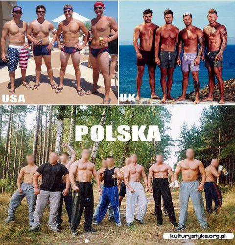 Polska vs reszta świata. #sport #kulturystyka #fitness #gym #bodybuilding #polska #memy #power