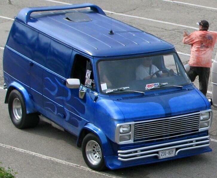 custom van vintage