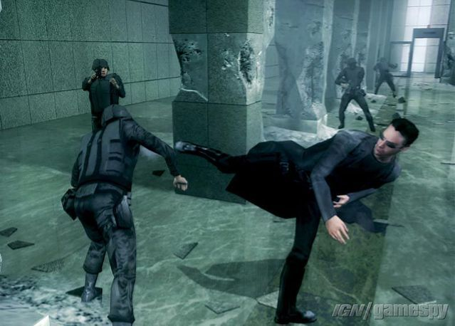 The Matrix Path of Neo PC Game Screenshots
