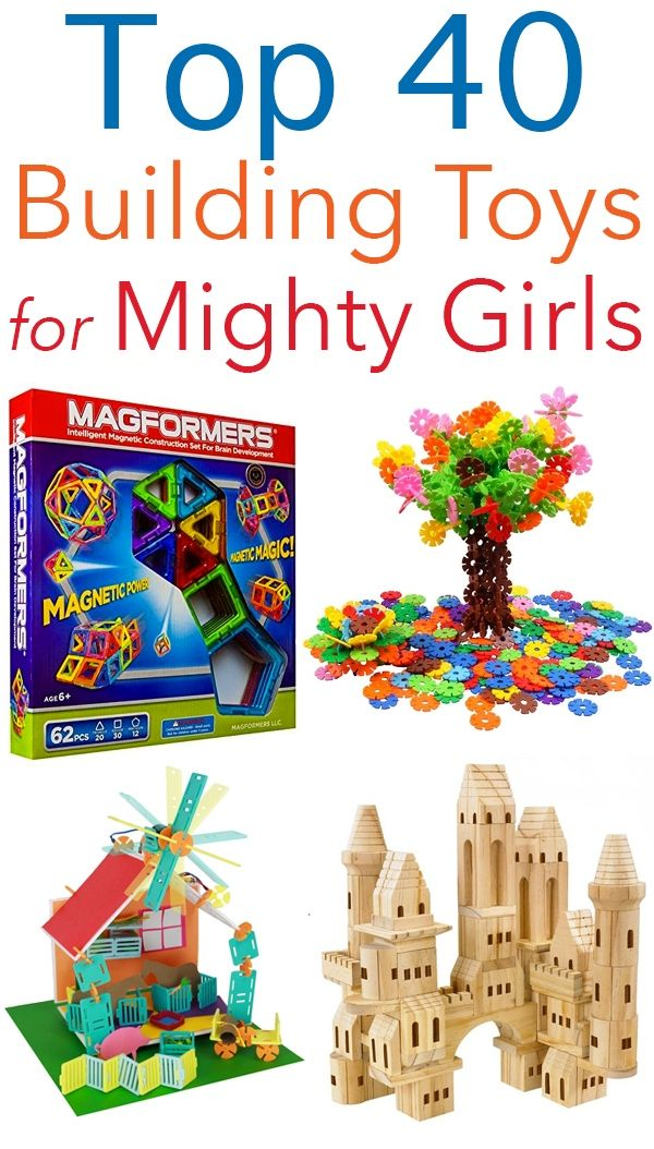 Building Her Dreams: Building and Engineering Toys for Mighty Girls