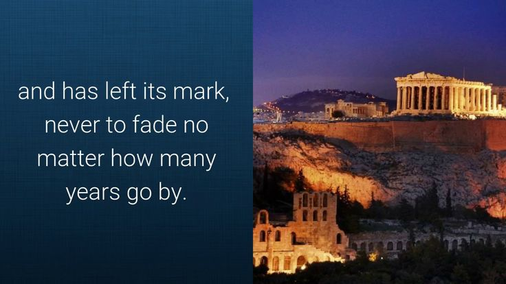 Greece awaits you to come and discover its beauties