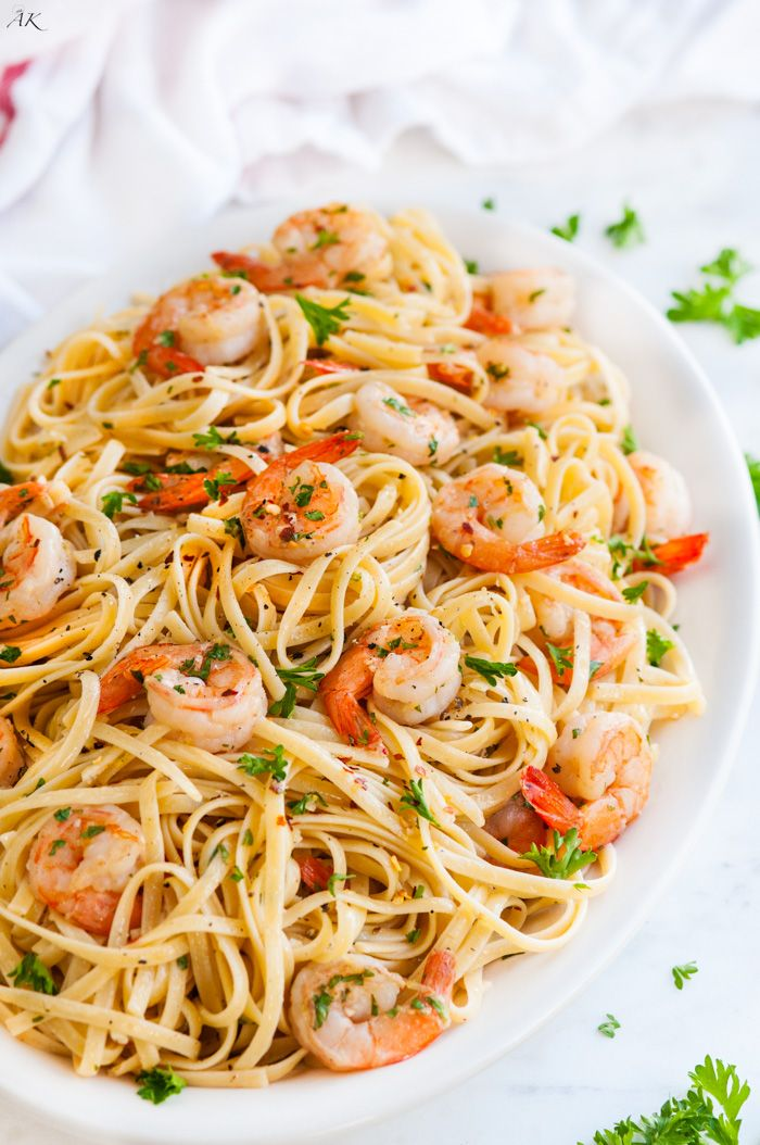 Shrimp scampi pasta recipe alton brown