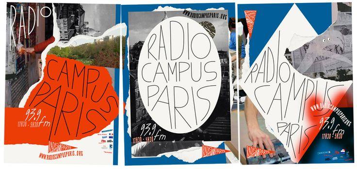 L'identité de Radio Campus Paris - Formes Vives, le blog