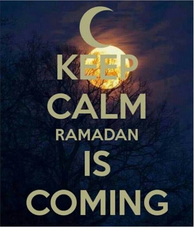 Ramdan is coming get ready Muslim ummah.