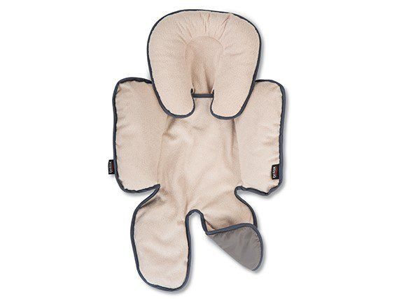 Britax head & body support pillow. winter fleece on one side, summer on the other