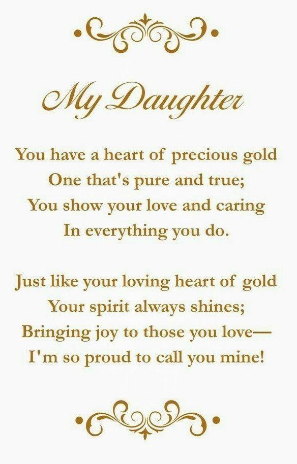 Pin Von Florida Auf I God Gedichte Für Töchter