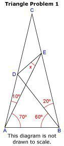 The worlds hardest easy geometry problem. Check out the problem, and a solution.
