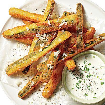 Fried Zucchini Straws - 28 Fresh Zucchini Recipes - Southern Living
