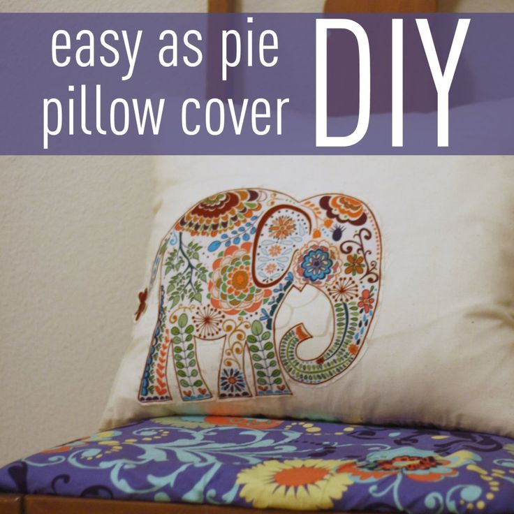 Easy To Make Throw Pillow Covers : 1000+ images about DIY - Pillow covers on Pinterest Diy pillow covers, Pillow covers and ...