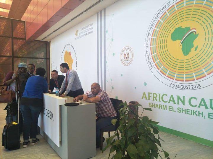 شرم الشيخ تبدأ استقبال الوفود المشاركة باجتماع محافظى البنوك المركزية الإفريقية بدأت اللجنة المنظمة للاجتماعات السنوية لل Home Appliances Table Fan African