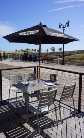 #BFM Seating South Beach Chairs And Table Set On The #boardwalk. Outdoor  Aluminum