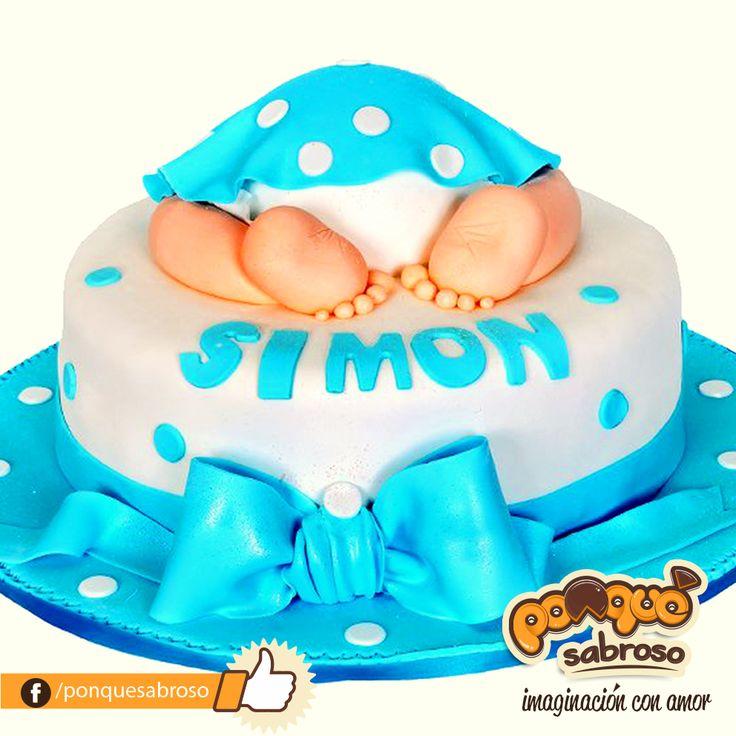 Torta elaborada y personalizada por Ponqué Sabroso, imaginación con amor. #ponquesabroso #cake #customcake www.facebook.com/ponquesabroso