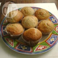 Muffins de banana y nuez @ allrecipes.com.ar