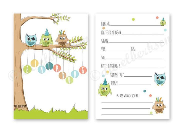 25+ parasta ideaa pinterestissä: einladungskarten kindergeburtstag, Einladung