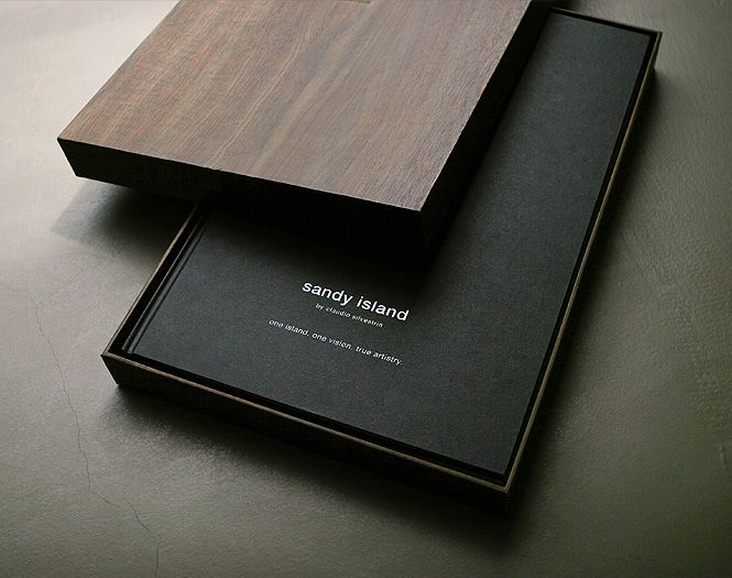 Sandy Island sales brochure by Mean and Mister Jones/Equus Brand Consultants. Luxurious.