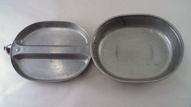US Military USGI Vietnam War Issue Mess Kit - Pan Pot Plate - S/L Mfg 1965 (#3)