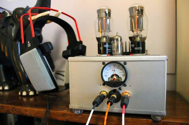 6AS7G tube headphone amplifier