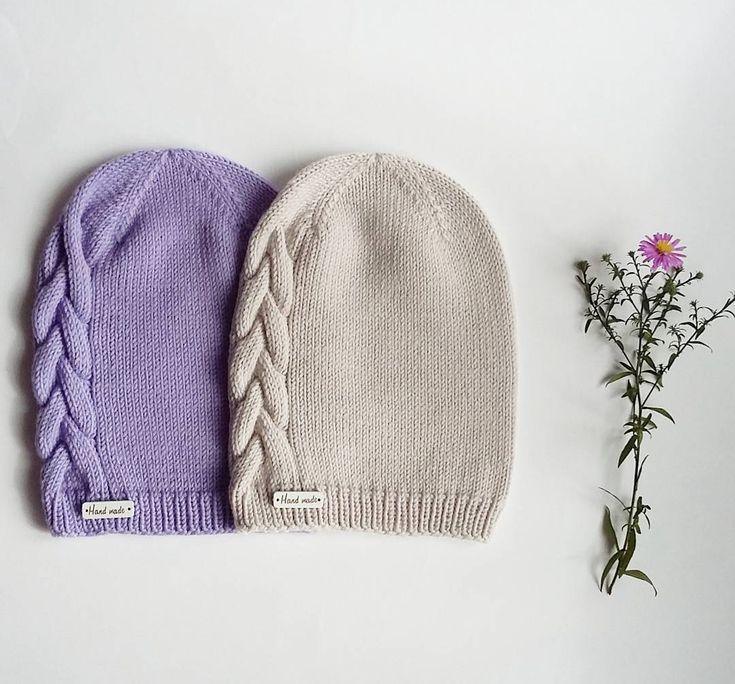 Осенние нежные теплые мериносовые шапочки для стильных девчонок, на размер 52-54, бежевая свободна!  #вяжутнетолькобабушки #осень #мериносовыешапочки #длядевочек #моднаяшапка #вяжутвсе #вязатьмодно #моехобби #instahandmade #instaknit #ручнаяработа #осенняяшапочка #шапкаспицами #хендмейд