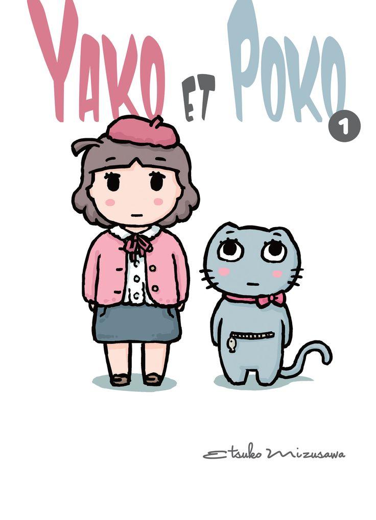 Yako et Poko chez Komikku de Etsuko Mizusawa