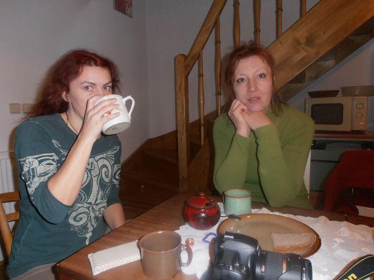 U Jíti v Nové Říši  nedělní ráno, leden 2012